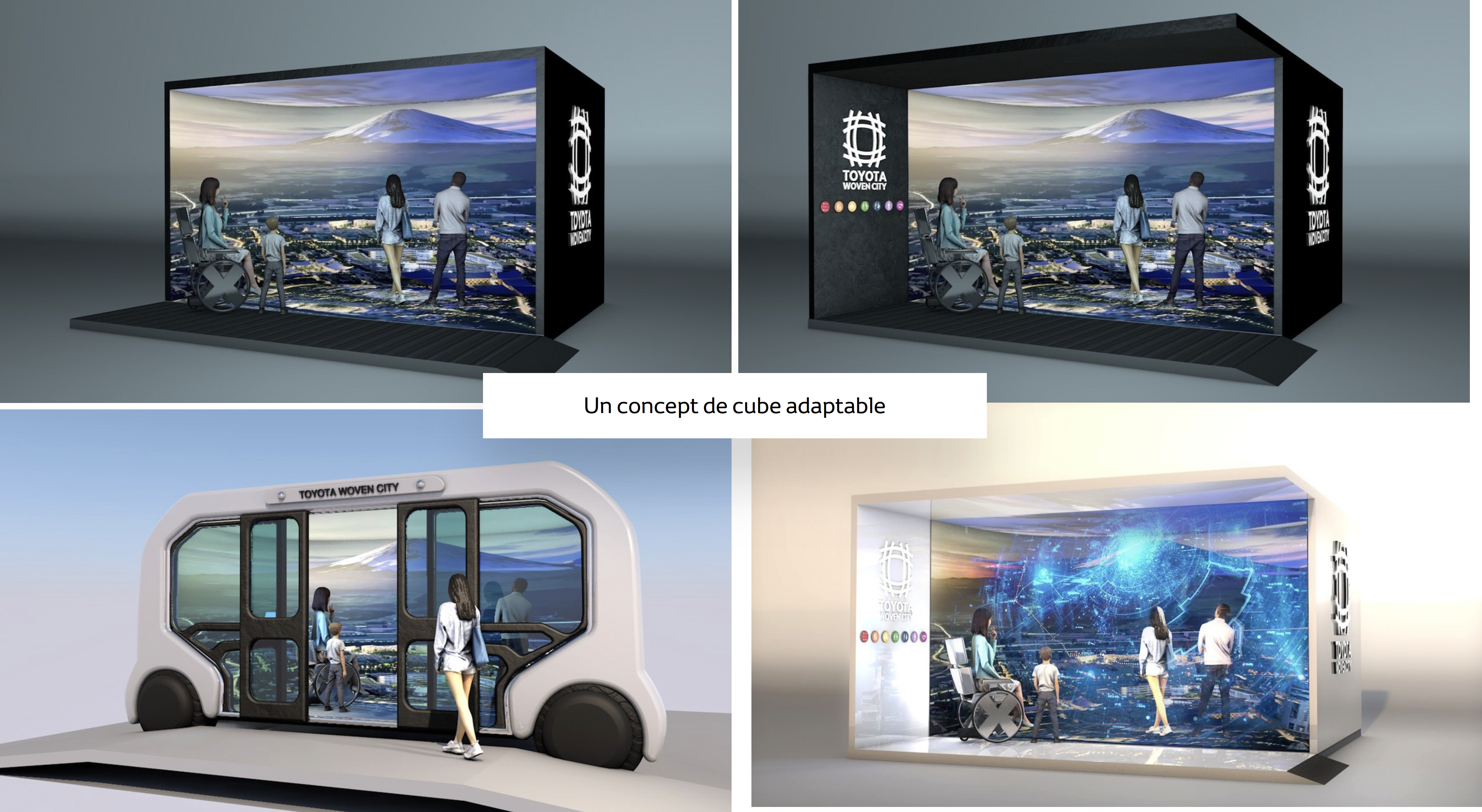 immersive cube experience